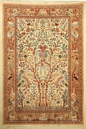 Mongolian Carpet (Isfahan Paradise Design),