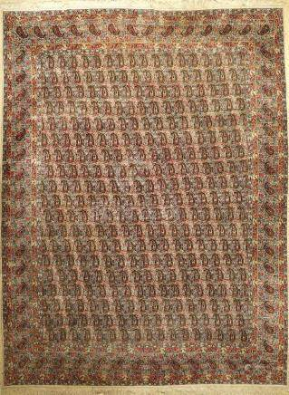 Fine Kirman 'Rashid Farokhi' Carpet (Signed),