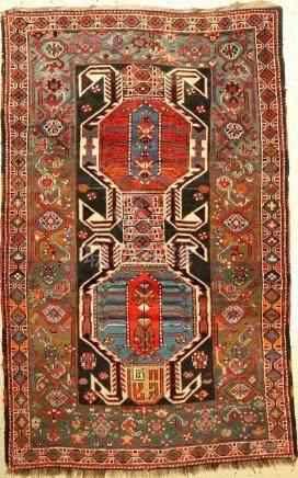 Azerbaijan Rug (Lenkoran Pattern),