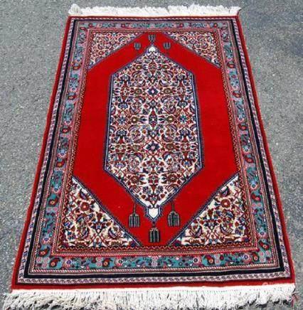 Very Beautiful Diamond Shaped Persian Najafabad 5.3x3.3