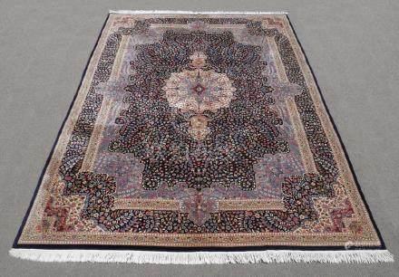 Elegant Handmade Floral Kerman Berkana 10x14