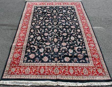 Absolutely Stunning Handmade Kashan Design 8.10x12.2