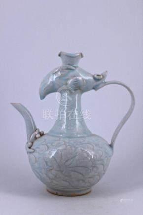 Ming YingQing Porcelain Teapot