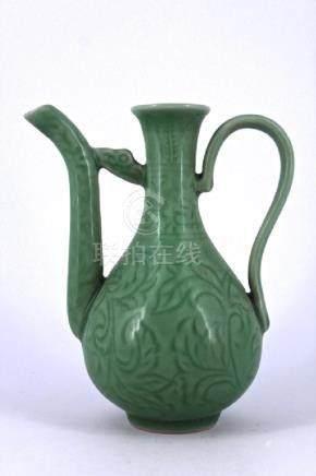 Qing LongQuan Porcelain TeaPot