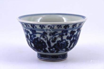 Ming Blue&White Porcelain Bowl