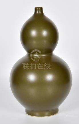 茶葉末釉葫蘆瓶