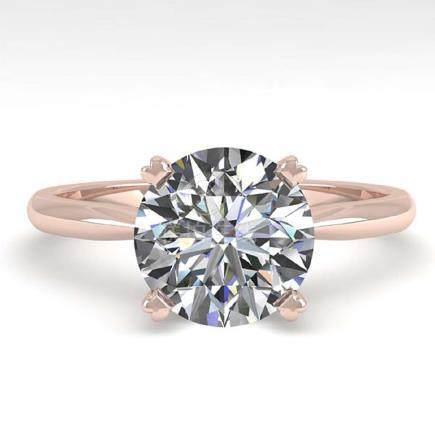 2.03 CTW VS/SI Diamond Engagement Ring 18K Gold -