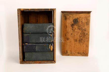 (31) A SET OF THIRTY-ONE QING DYNASTY ENGRAVED WOOD BLOCK PR
