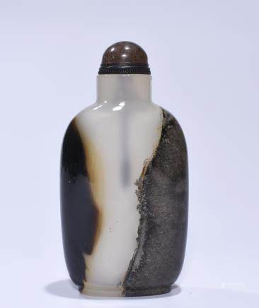 A CARVING SNUFF BOTTLE