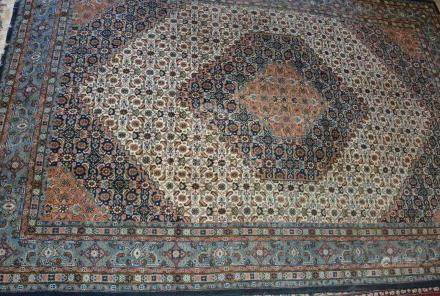 Tapis, décor Bidjar, Inde    Dimensions :  210 cm  x  320 cm