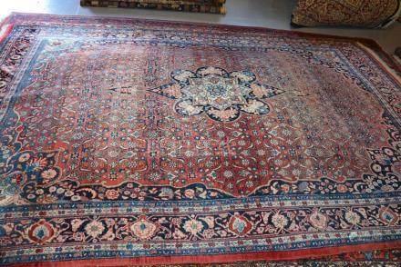 Tapis BIDJAR, Iran   Dimensions :  225 cm  x  330 cm