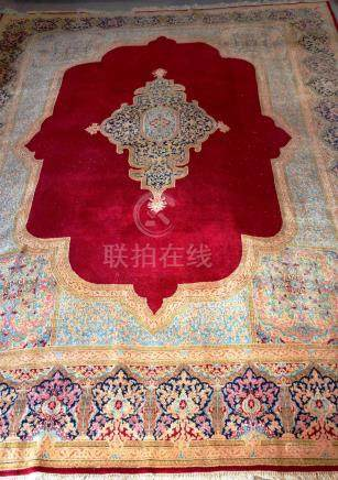 Tapis KIRMAN, Iran   Dimensions :  292 cm  x  410 cm