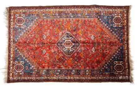 CHIRAZ (Perse), 1er tiers du 20e siècle Un champ aux différentes teintes de ble