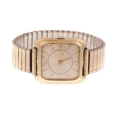 A Gentleman's Longines 14K Gold Watch