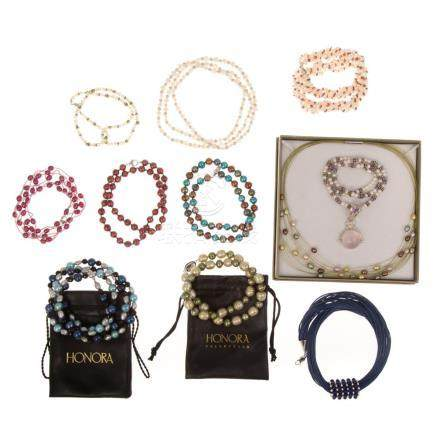 Honora Pearls and Other Beaded Necklaces