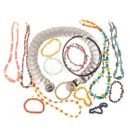 A Collection of Ladies Beaded Jewelry