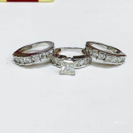 4.63 carat ENGAGEMENT RING Certified By GIA GEMOLOGIST