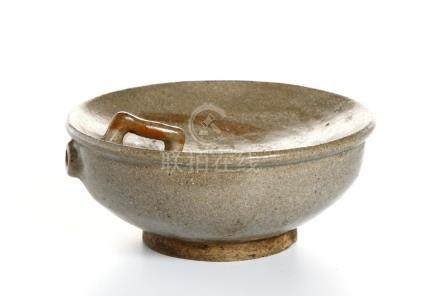 Chinese Brown Glazed Waterpot