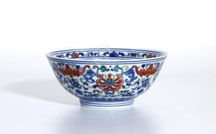 Chinese Doucai 'Lotus' Bowl