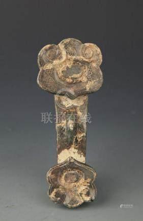 COPY OF FINE OLD JADE IN RU YI SHAPE