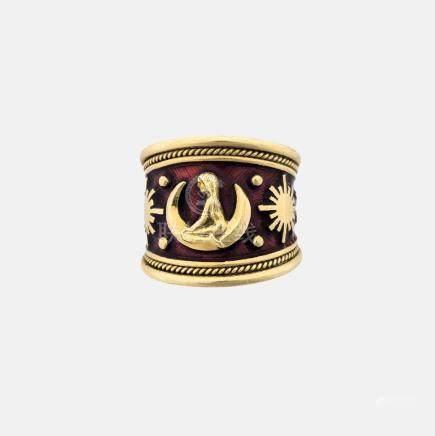 Elizabeth Gage Virgo Ring