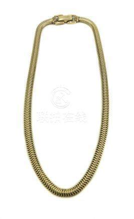 Retro Snake Chain Necklace