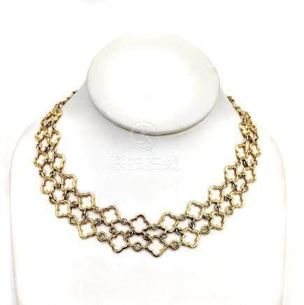 Van Cleef & Arpels Alhambra Link Necklace