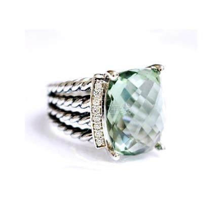 David Yurman 925 Sterling SilverWheaton Ring with