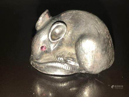 Russian Silver Little Mouse
