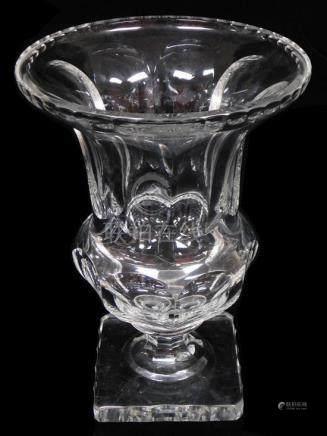 Impressive William Yeoward (British, 20th century) crystal f