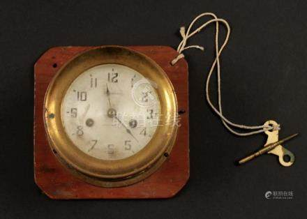 WATERBURY SHIP'S CLOCK