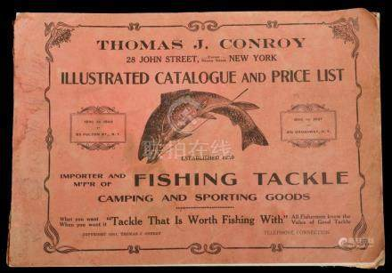 RARE 1911 CONROY SPORTING GOODS CATALOG
