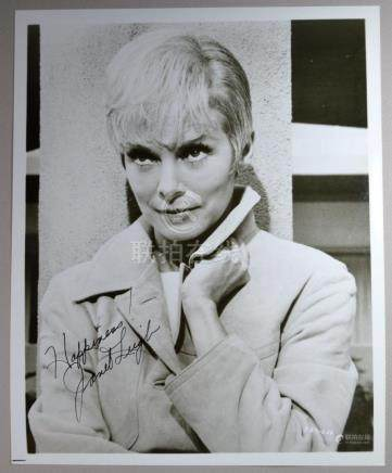 JANET LEIGH SIGNED AND DEDICATED  PHOTO
