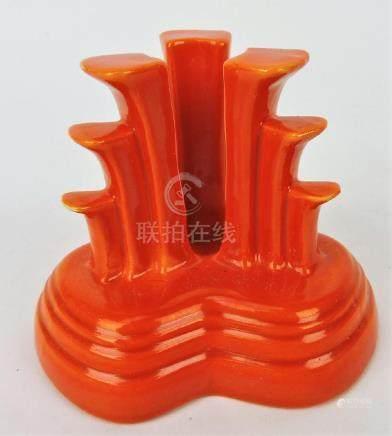 Fiesta tripod candle holder,