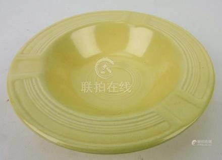 Fiesta ashtray, ivory