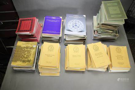 CATALOGUES OF CHRISTIE'S, SOTHEBY'S AND BONHAMS FROM 1960 - 2000