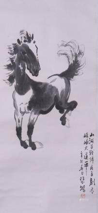 ANONYMOUS, NINE CHINESE PAINTING SCROLLS