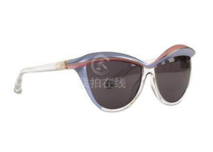 Christian Dior Demoiselle 1 Sunglasses, lilac and pink frame, model number EXQY1 58 Condition
