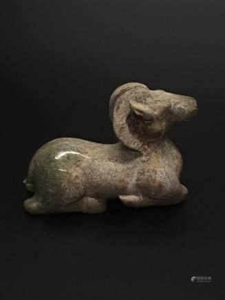 Chinese Archaic 'Antelope' Jade