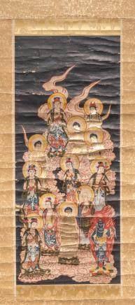 Antique Painting Buddha