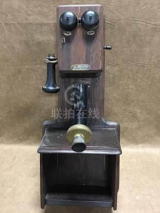 ORIGINAL SUMTER WALL CRANK TELEPHONE