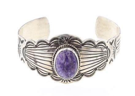 Vintage Charoite Bracelet
