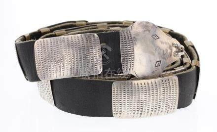 Vintage Viper Concho Belt