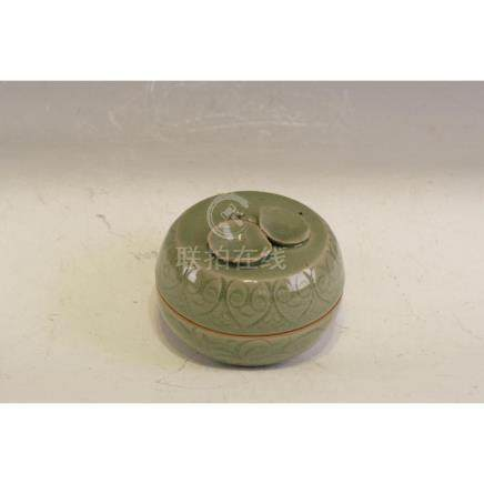 Most beautiful Yau Zhao Ware powder box