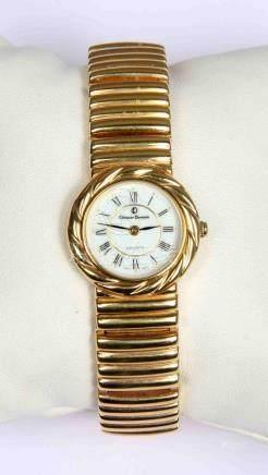Reloj suizo de pulsera de la marca CHRISTIAN DUVENET, chapad