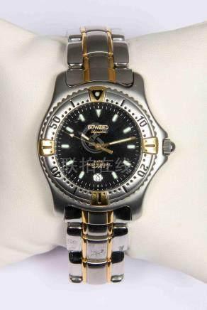 Reloj de pulsera de la marca DUWARD, modelo AQUASTAR, en ace
