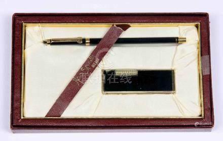 Juego de bolígrafo y mechero de la firma italiana MARA SPINE