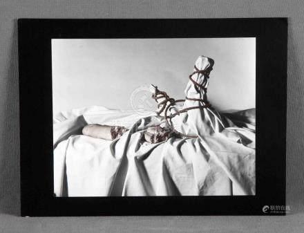 "ANAIS (S.XX). ""Homenaje a dos"". Fotografía. Med.: 24x30,5 cm"