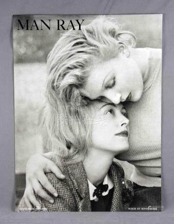 "RAY, MAN (1890-1976). ""Nusch et Sonia Mosse"". Impresión offs"