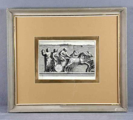 """SANTI BARTOLI, PIETRO (1635-1700). """"Mappa Missa"""". Grabado it"""